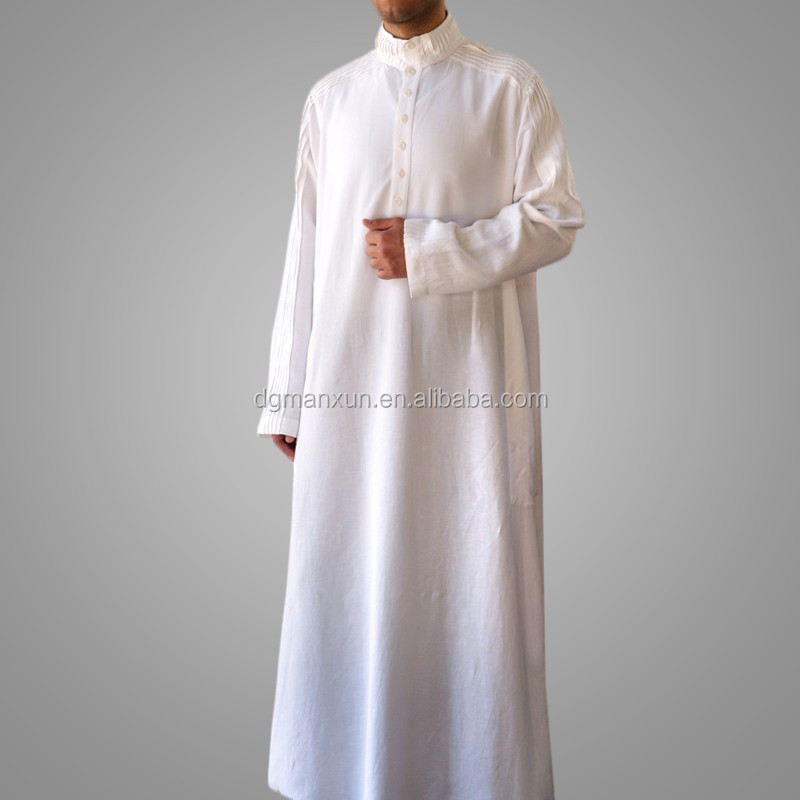 New Arrival Men Robe Muslim Long Thobe Islamic Jubbah2.jpg