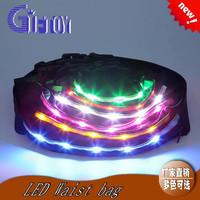 led sport running waist belt with light