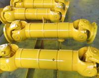 Universal joint propeller shaft for open-train billet mill CE certifation