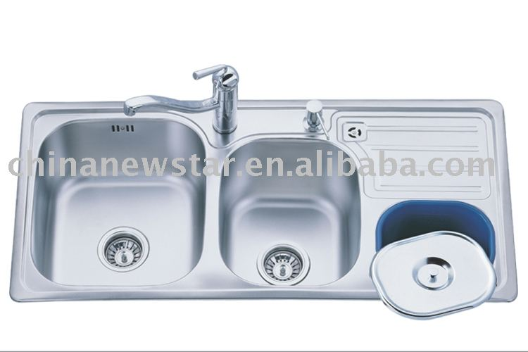 Commercial Kitchen Sink,Drop In Sinks,Inset Sink - Buy Stainless Steel ...