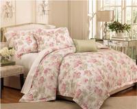 2015 new design elegant 4pcs Bedding comforter set, comfortable and soft pigment print
