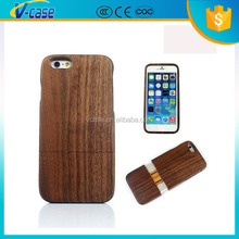 Bamboo wood Patten fashion cell phone cases for iPhone 6S