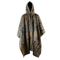 2015 high quality Leaf camouflage poncho
