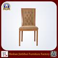 Venta al por mayor apilable moderna tapizada silla de madera