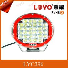 9 inch round led driving lights , 96w Led work light, led headlight tuning light 96W