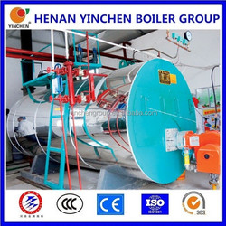 Oil or gas fired industrial 5 ton steam boilers stove and wet steam generator