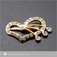 Fashion decorative accessories buckle for shoe with factory price