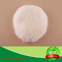 sheep fur car buffing&polishing pad