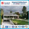 European style hot sell luxury long service life prefab steel villa for sale
