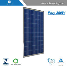 High efficiency Poly crystalline PV Panel Module 250W from China manfacture with cheap price list same as famous quality