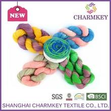 super soft wool acrylic nylon sock yarn for hand knitting