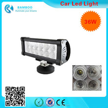 36W Off Road LED Work Light Bar Auxiliary Driving Lamp Flood Spot Combo Beam For 4x4-Jeep Cabin/UTE/SUV/ATV/Truck/Car/Boat/