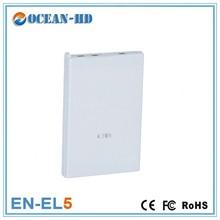Replacement original EN-EL5 for Nikon 3.7v 1100mah li-po battery