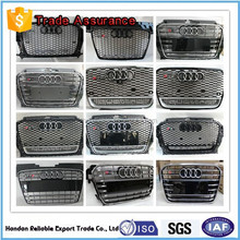 For audi front grille. front grille for audi a1-a8 q3-q5 series car front grill.High quanlity online purchase