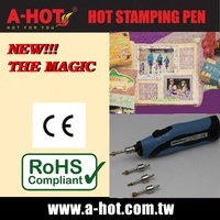 BATTERY CARD SUPPLIER DIY CRAFT HOT STAMPING PEN KIT