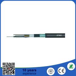 2-288core Underground Duct GYTS/GYTA/GYTA53 Optical Fiber Cable price per meter