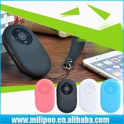 Portable Bluetooth Sound box Wireless LoudSpeaker with Camera Remote Shutter Self-timer Selfie / FM Radio / Built-in Micro