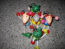 Children wooden animal toys for promotion