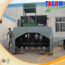 High efficiency garden pruning waste compost processing machine/vessel composting equipment