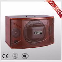YAZOO hot sale beautiful 10 inch 150W Y-106 professional karaoke speaker for home KTV system