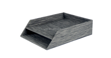 Antique textilene(PVC) 2 tier desk organizer document tray