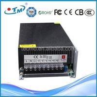 600W 12V 50A CE RoHS FCC Constant Voltage dc power supply dc-dc converter step up 5v to 12v/24v