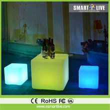 used bar furniture,led cube chair for night club,bar