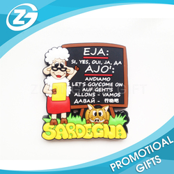 China Factory OEM High-quality Custom Cheap Price Beautiful Promotional Wholesale Soft PVC Fridge Magnet Manufacturer