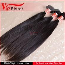Cheap sell raw unprocessed no split full cuticle healthy ends 100% virgin brazilian hair