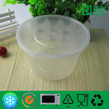 1500ml Plastic Injection Food Container Can Be Taken Away /plastic waterproof containers