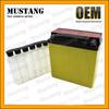 Dry Charged MF Sealed 12V Motorcycle Battery Lead Acid Battery 4Ah 6.5 Ah 7Ah 9Ah 12 Ah