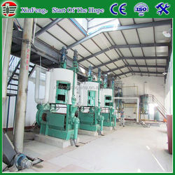 50TPD soya/canola/sunflower oil making machine