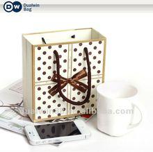 Fashion 2012 Paper Shopping Hand Bag