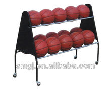 basketball storage cart