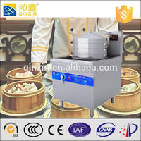Restaurant large power induction commercial electric steamer for dim sum box/food steamer