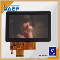 5 inch TFT LCD panel 800x480 dots Capacitive touch screen
