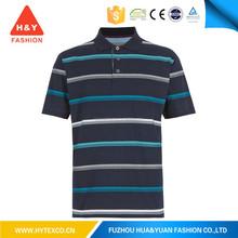 Fashion short sleeve polo shirt woven collar polo shirt---7 years alibaba experience