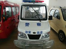 China made electric van for traffic patrolling