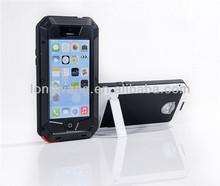 Luxury Brand Dinosaurbox Original Powerful Dirtproof dropproof Waterproof metal stand Case Cover For iphone 5C