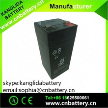4v sealed rechargeable LED usage , storage shenzhen battery not dry battery for ups