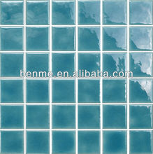 cheapest mosaic tiles fancy blue color for swimming pool mosaic art design
