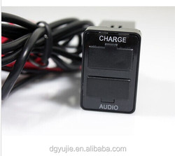 Newest! Audio usb charger for toyota car