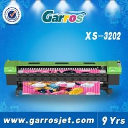 3.2m digital solvent printing machine canvas digital printer spt solvent printer