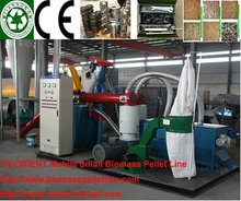 0.1-1 TPH mobile pellet plant easy to move for family need (0086-18796202093)