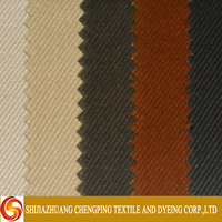 Dyeing Textile Woven Technics Twill Fabric