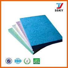 230gsm Leather book cover leather grain paper embossed paper