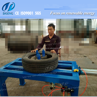 OTR tyre doubling & unpacking plant/tyre cutting machine/tyre packing plant
