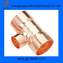 ASTM, BS, EN,y tee copper pipe fitting