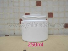 Withe Plastic Pet Bottle For Cosmetic Packaging