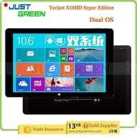 Christmas Gift Teclast X16 Pro Dual OS Intel Cherry Trail T4 Z8500 4GB 64GB Dual OS tablet with high quality